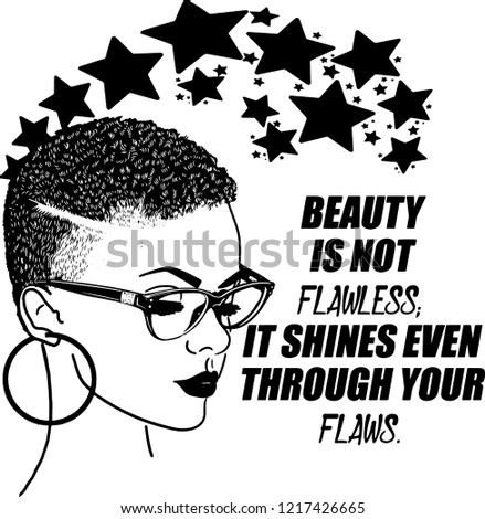 This a Pretty lady She is a Fashion Model African American Ethnicity Hair Happiness Portrait Women Afro Females Beautiful People Beauty