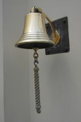 This bell was photographed at the gate of an old dutch's soldiers graveyard in Jakarta, Indonesia