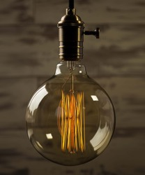 This bulb is a reproduction of Edison's first light bulb. It comes with 40 watt filament in sphere/globe glass (G120). It can be used at home, office, workshop to evoke classical and romantic feeling.