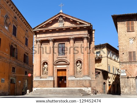This church is one of the most ancient temple constructions of Siena. The first mentions of it belong to 1087.