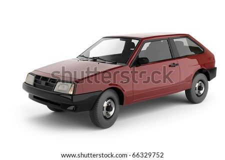 This image from a Red car