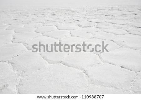 This image shows Bolivia's Salar De Uyuni