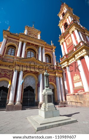 This image shows Iglesia San Francisco in Salta, Argentina