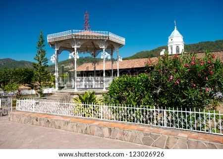 This image shows the town of San Sebastian near Peurto Vallarta