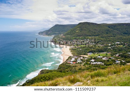 This image shows the Wollongong Coastline in Australia