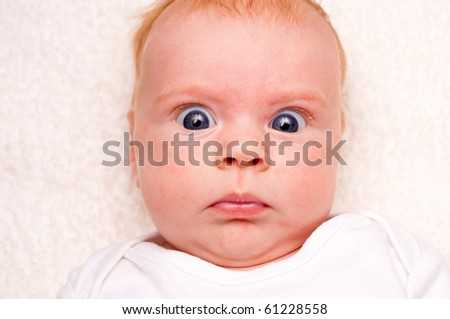this is a funny newborn baby