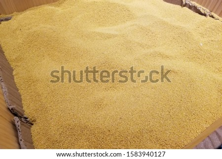 This is a kind of ingredient: millet.