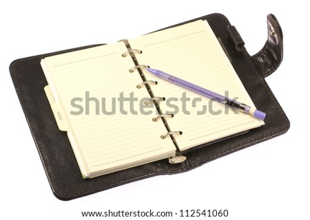 This is a photo of the notebook system I have used.
