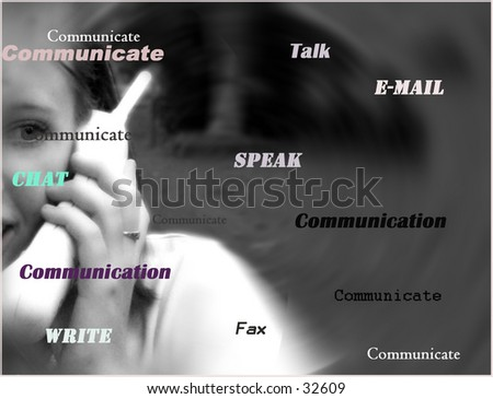 This is a picture of a young girl chatting on the telephone to a friend