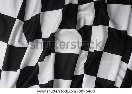 This is a real checkered flag of high quality - texture details in the material