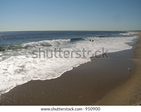 This is a shot of the surf in Ocean Grove, down on the Jersey Shore.