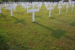 This is an angle from a beautiful dutch's soldiers graveyard located in Jakarta, Indonesia