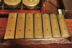 This is Gamelan. Gamelan  is the traditional ensemble music of the Javanese