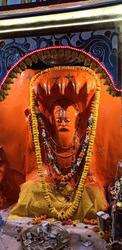 This is hindu saints Kapil muni statue India,west Bengal,Gangasagar