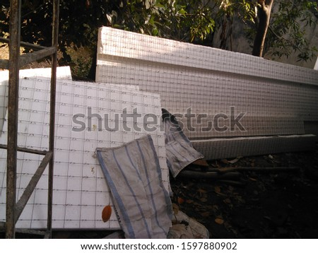 This is low cost home constructed by Pharmacol sheets