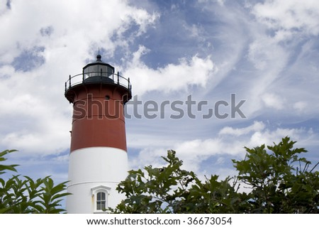 This is Nauset Light House EastHam, Massachusetts