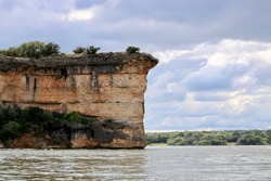 This is one half of Hell's Gate, located on Possum Kingdom Lake