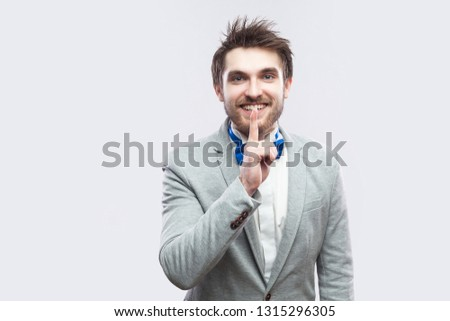 b31e9e23562d Portrait of handsome caucasian man with grey beard standing on white ...