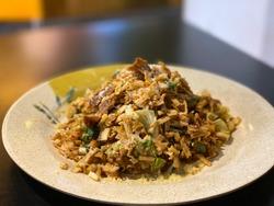 This is thai sri lankan cheese kottu