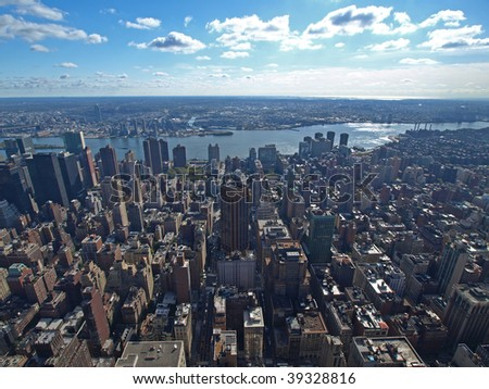 This is the East View of Manhattan.
