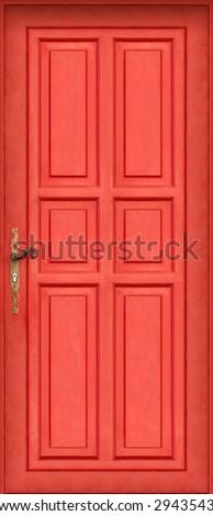 This is the entire door of my best seller shot : Magic red door