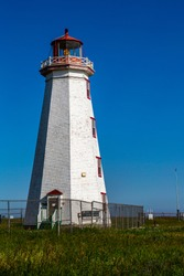This is the lighthouse at the north point of PEI