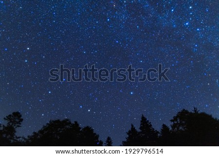 This is the starlit sky in Hokkaido prefecture, Japan.  How about using this image for background of a calendar, a poster or any other promotional materials.