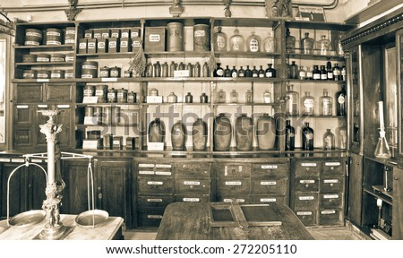 this pharmacy museum in 1730...