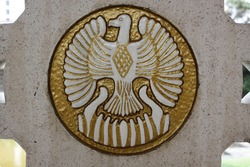 This phoenix logo brings an everlasting meaning, founded on an old chursh inside a dutch's soldiers graveyard in Indonesia