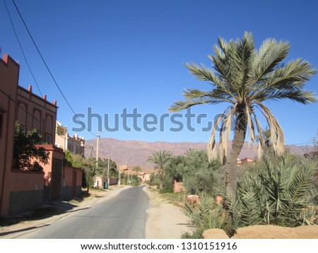 this photo was taken in tafraout village aday  Stok fotoğraf ©