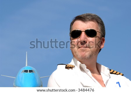 This Pilot is one of a series with different expressions including aircraft (As it's also me I would very much appreciate you letting me know where it might be used. Many Thanks!)