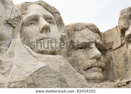 Thomas and Teddy on Rushmore