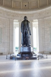 Thomas Jefferson Memorial Hall at Washington DC , USA
