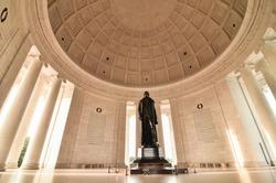 Thomas Jefferson Memorial in Washington DC United States