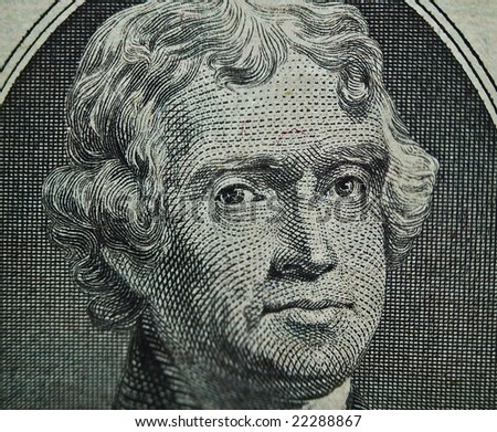 Thomas Jefferson $2 Portrait 2