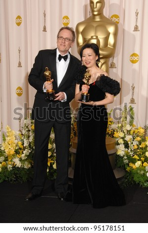 Thomas Lennon & Ruby Yang at the 79th Annual Academy Awards at the Kodak Theatre, Hollywood. February 26, 2007  Los Angeles, CA Picture: Paul Smith / Featureflash