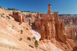 Thor's Hammer at Bryce Canyon National Park, Utah, United States.