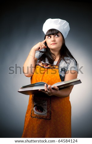 thoughtful woman cook