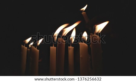 Thousands of candles can be lighted from a single candle, and the life of the candle will not be shortened. #1376256632