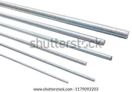 threaded bars or threaded rods #1179092203