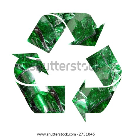 Recycle Glass Symbol Glass Recycling Symbol