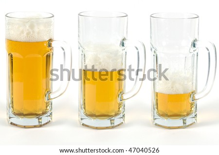 Three beers
