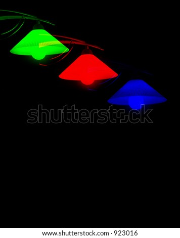 Three Color Lamps