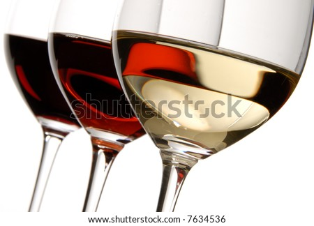 Three Colors of Wine