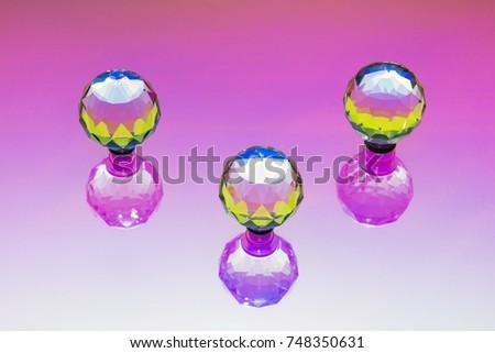 three crystal spheres #748350631