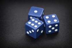 Three dices.