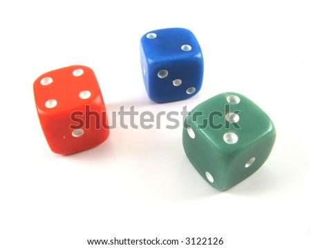 three dices... 421 game