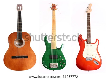 three different guitars for the price of one