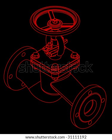 Three dimensional valve