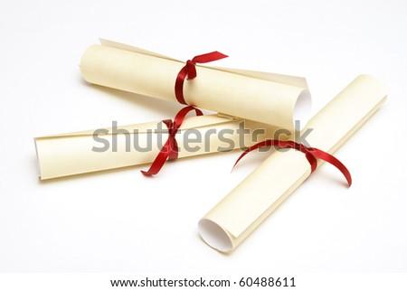 Three Diplomas